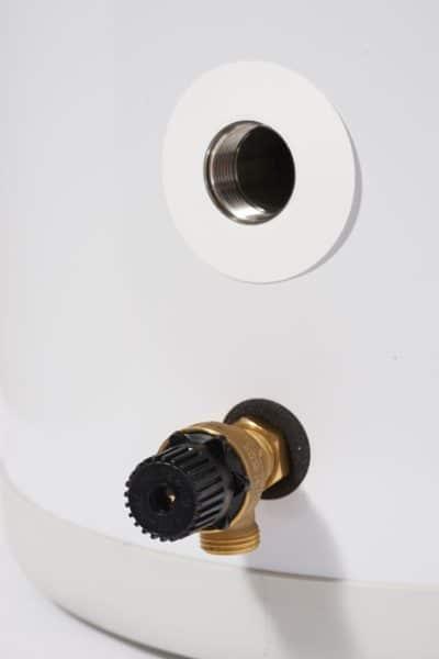 Accu A 100 akkumulatortank med spisslast sikkerhetsventil