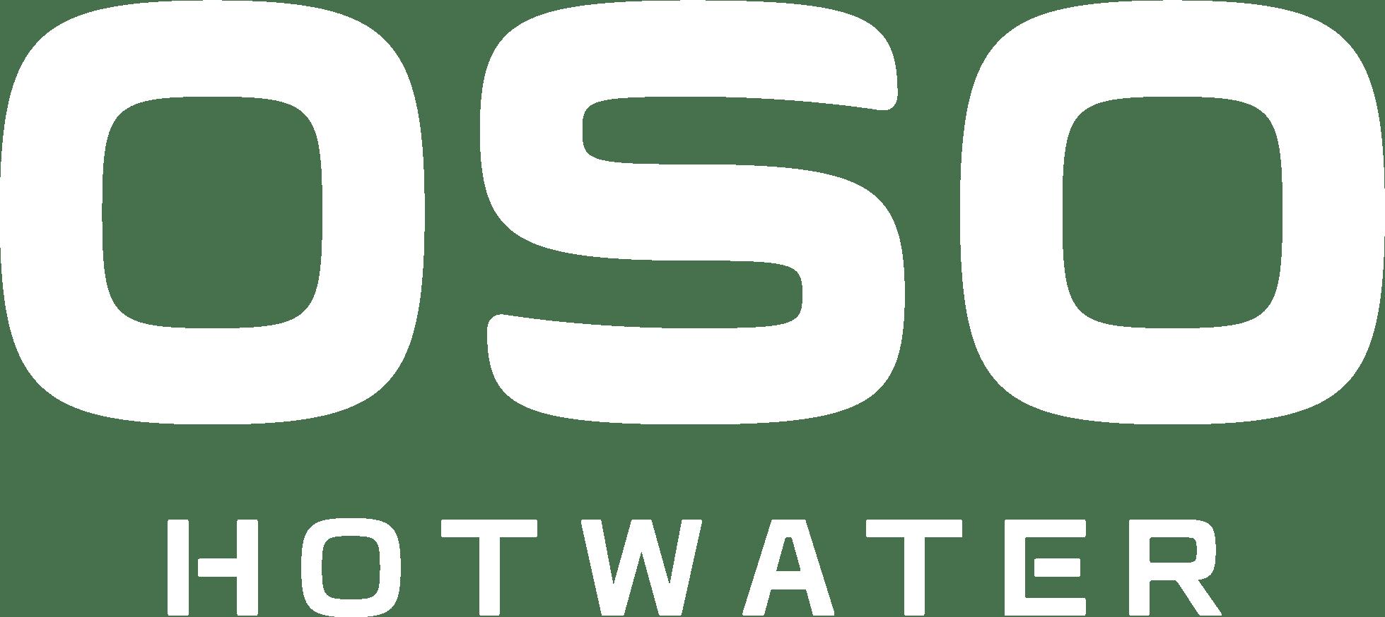 OSO Hotwater logo white